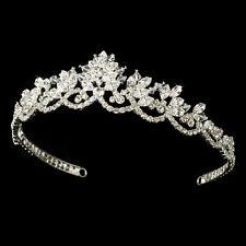 Vintage Inspired Swarovski Crystal Rhinestone Bridal Wedding Prom Pageant Tiara