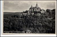 Wernigerode Sachsen-Anhalt DDR Postkarte 1955 Feudalmuseum Museum Schloß