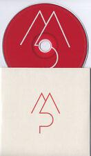 MORNING PARADE A&E 2011 UK 2-trk promo CD card sleeve