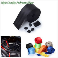 1 Pcs Black High Quality Car Off-Road Front 3-Point Safety Retractable Seat Belt