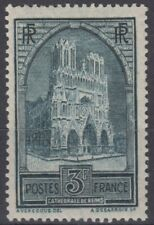 FRANCE : CATHEDRALE DE REIMS N° 259c TYPE IV NEUF * GOMME AVEC CHARNIERE