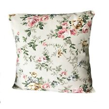Floral Country Cottage 100% Cotton Cushion Covers 16'' x 16''