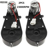 Electric Gearbox RS550 Replacement For Kids Car Toy Accessories 23000RPM