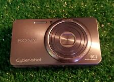 Sony Cyber-shot DSC-W570 16.1MP Digital Camera Silver - used untested no charger