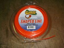 Grass Gator Shaped Line, Used, but nearly full *FREE SHIPPING*