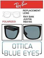Lenti di Ricambio RAYBAN JUSTIN RB4165 filtri Replacement Lenses Ray Ban POLAR2V