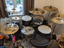More details for mapex horizon hzb kit with mapex black panther sledgehammer snare.
