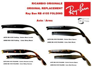 Aste di Ricambio Ray Ban RB 4105 Folding - Replacement Arms RB 4105 Folding