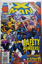 X MAN #18 MARVEL COMICS SAFETY IN NUMBERS X-MEN ONSLAUGHT PHASE 1