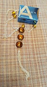 Avon Jarvia Long-line Necklace - New in box.