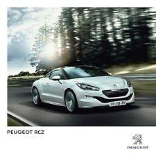 Peugeot RCZ 04 / 2013 catalogue brochure Pologne Poland rare