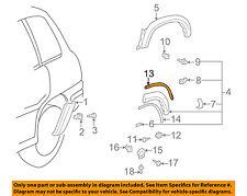 TOYOTA OEM 97-00 RAV4 Exterior-Insulator 6178342010C0