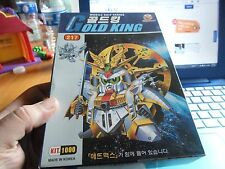 Gold King Mobile Suit Series by Aladdin anime model kit New in Box