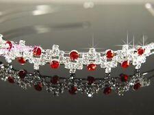 Corone e tiare da sposa rosso