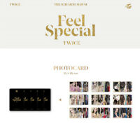 TWICE - 8th MINI ALBUM FEEL SPECIAL PHOTO CARD TZUYU MINA SANA MOMO NAYEON JIHYO