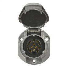 Steckdose Metall  13-polig System Jaeger mit Mikroschalter