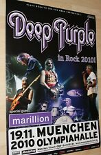 Deep Purple Tourplakat/Tourposter 2010  - Olympiahalle München - NEU
