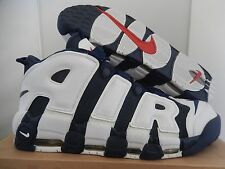 "NIKE AIR MORE UPTEMPO ""OLYMPIC USA"" NAVY BLUE-WHITE-RED SZ 15 [414962-401]"
