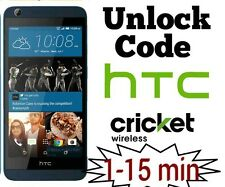Unlock code Cricket HTC desire 550 555 626 625 510 520 525 Premium