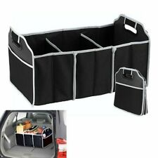 2 In 1 Car Boot Organiser Shopping Tidy Heavy Duty Collapsible Foldable Storage