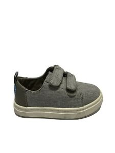 Toms Boys' Lenny, Drizzle Gray Sneakers, Toddlers' Size 6M.