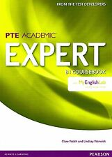 Pearson PTE ACADEMIC EXPERT B1 Coursebook with MyEnglishLab Access Code @NEW