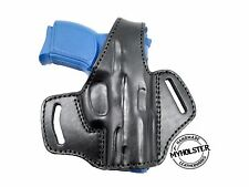 OWB Thumb Break Leather Belt Holster fits SCCY CPX-1 , CPX-2