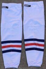NEW CCM Edge Pro Stock Solid White Shin Pad Practice Socks 9862