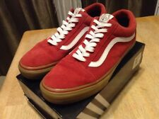 ef52431d89 VANS X Golf Wang Syndicate Old Skool Red Gum ~ Size 11.5 (LOWERED)