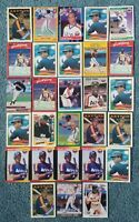 Gerald Young Baseball Card Mixed Lot approx 28 cards