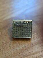 VINTAGE 1960'S ERA FUTURE PRIMITIVE, U.S.A. MESA BOOGIE BLACK SHADOW AMP PIN!