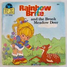 Rainbow Brite And The Brook Meadow Deer Vintage Vinyl Childrens Record & Book O