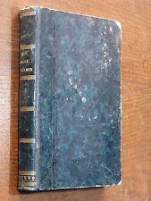 Claude Tillier MON ONCLE BENJAMIN Rarissime Éd. Originale COQUEBERT 1843 PORNIN