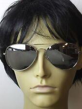 Sunglasses Aviator Men Mirror Lens Metal Frame Retro Fashion Glasses Vintage