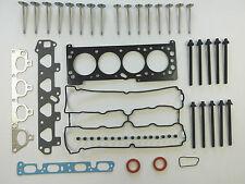 Testa Guarnizione Set Bulloni Valvole Astra G Meriva Vectra B Zafira 1.6 16V Z16XE Z16YNG