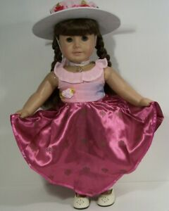 """3pc Movie DRESS Generic Rebecca Rubin Doll Clothes For 18"""" American Girl  (Debs*"""