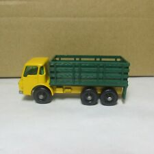 OLD DIECAST LESNEY MATCHBOX # 4 DODGE STAKE TRUCK  MADE IN ENGLAND 1967