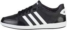 Adidas Neo Hoops VL Leder Sneaker Sportschuhe Freizeit Gr:44  AQ1539 black