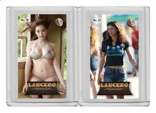 Alexandra Daddario rare MH Lancero #'d 2/3 Tobacco card no. 25