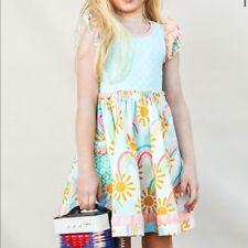 NWT Girls Matilda Jane Rainbow Way Dress Size 8