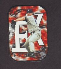 2000 E-X Baseball E-Xceptional Red #XC13 Roger Clemens /1999 New York Yankees