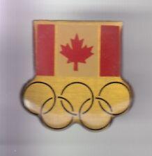 RARE PINS PIN'S .. OLYMPIQUE OLYMPIC GAMES DRAPEAU FLAG CANADA EQUIPE TEAM ~18