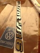 LOGO VOLKSWAGEN PASSAT VR6 DERNIERS EXEMPLAIRES ORIGINAL VW
