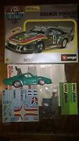 1983 BBURAGO BURAGO KIT 5142 KREMER PORSCHE 935 TURBO BOXED RARE 1/25 Metallo