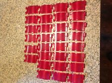 JUKEBOX  AMI MODEL J  30 NEW RED  PUSH BUTTON SELECTOR KEY LENSES