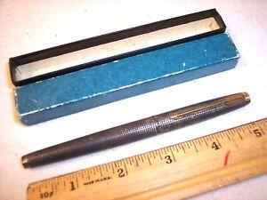 Parker Arrow Sterling Silver Fountain Pen 14K Gold NIB