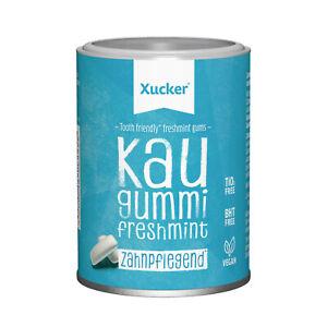 Xylit Zahnpflege Kaugummi von Xucker 100 g Freshmint 67 Stk ohne Ti-Oxid + BHT