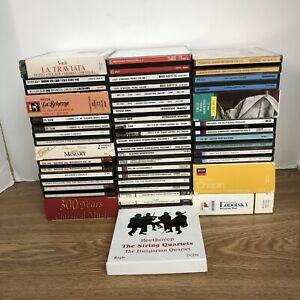 Lot of 30 Classical & Opera Cd Box Sets (5/7 F14)
