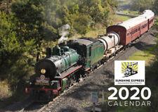 2020 Queensland Railways Heritage Rollingstock Calendar