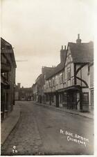Ye Olde Ostriche Pub Colnbrook Nr Datchet RP  pc 1909 postmark single circle